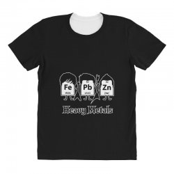 heavy metals periodic table science All Over Women's T-shirt | Artistshot