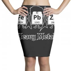 heavy metals periodic table science Pencil Skirts | Artistshot
