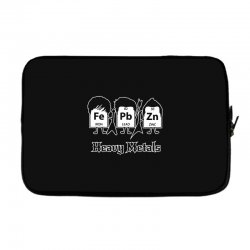 heavy metals periodic table science Laptop sleeve | Artistshot