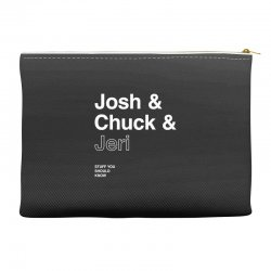 helvetica hosts Accessory Pouches | Artistshot