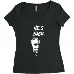 he's back Women's Triblend Scoop T-shirt | Artistshot
