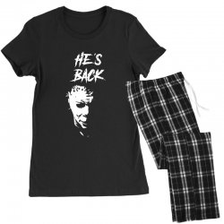 he's back Women's Pajamas Set | Artistshot