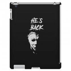 he's back iPad 3 and 4 Case | Artistshot
