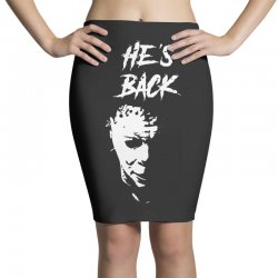 he's back Pencil Skirts | Artistshot