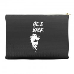 he's back Accessory Pouches | Artistshot