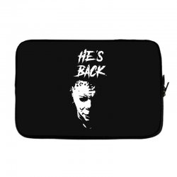 he's back Laptop sleeve | Artistshot