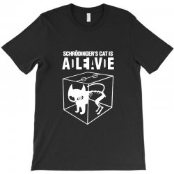 hilarious 2019 cat science funny schrodinger's cat T-Shirt | Artistshot