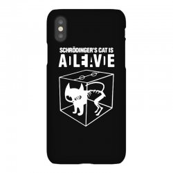 hilarious 2019 cat science funny schrodinger's cat iPhoneX Case | Artistshot