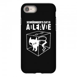 hilarious 2019 cat science funny schrodinger's cat iPhone 8 Case | Artistshot
