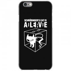 hilarious 2019 cat science funny schrodinger's cat iPhone 6/6s Case | Artistshot