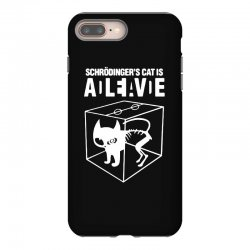 hilarious 2019 cat science funny schrodinger's cat iPhone 8 Plus Case | Artistshot
