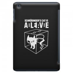 hilarious 2019 cat science funny schrodinger's cat iPad Mini Case | Artistshot
