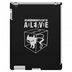 hilarious 2019 cat science funny schrodinger's cat iPad 3 and 4 Case | Artistshot