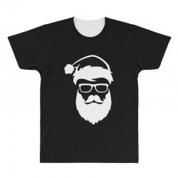 hipster santa claus All Over Men's T-shirt | Artistshot