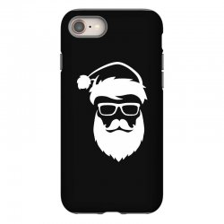hipster santa claus iPhone 8 Case | Artistshot