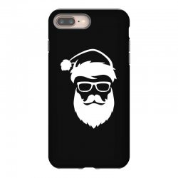 hipster santa claus iPhone 8 Plus Case | Artistshot