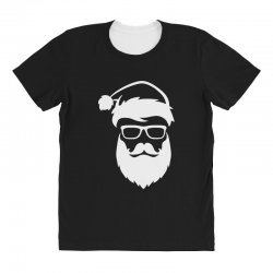 hipster santa claus All Over Women's T-shirt | Artistshot