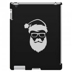 hipster santa claus iPad 3 and 4 Case | Artistshot
