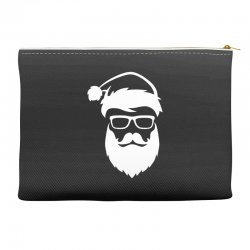 hipster santa claus Accessory Pouches | Artistshot