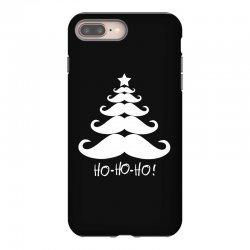 ho ho ho santa moustache christmas iPhone 8 Plus Case | Artistshot
