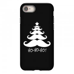 ho ho ho santa moustache christmas iPhone 8 Case | Artistshot