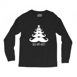 ho ho ho santa moustache christmas Long Sleeve Shirts | Artistshot