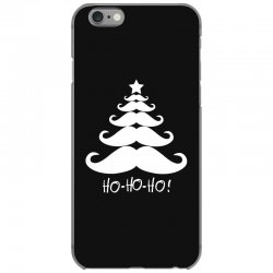 ho ho ho santa moustache christmas iPhone 6/6s Case | Artistshot