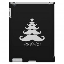ho ho ho santa moustache christmas iPad 3 and 4 Case | Artistshot