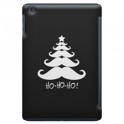 ho ho ho santa moustache christmas iPad Mini Case | Artistshot