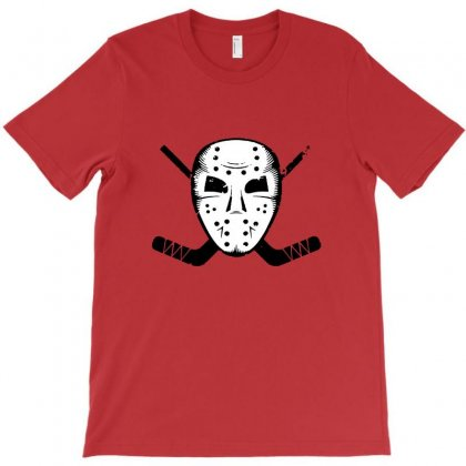 Hockey Mask Sticks Ice Skate Winter Sports Fan T-shirt Designed By Tee Shop