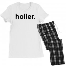 holler Women's Pajamas Set | Artistshot