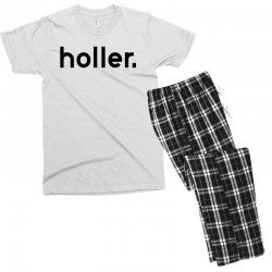 holler Men's T-shirt Pajama Set | Artistshot