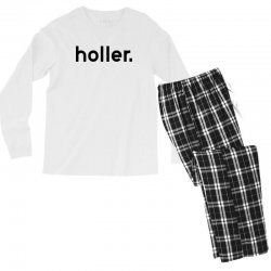 holler Men's Long Sleeve Pajama Set | Artistshot