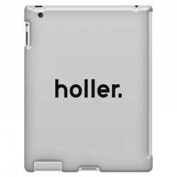 holler iPad 3 and 4 Case | Artistshot