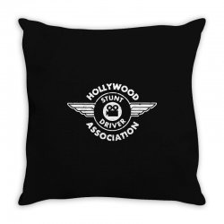 hollywood stunt driver t shirt evel knievel t shirt vintage movie shir Throw Pillow | Artistshot