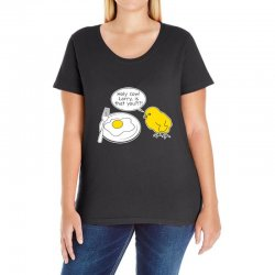 holy cow larry is that you funny Ladies Curvy T-Shirt | Artistshot