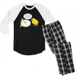 holy cow larry is that you funny Men's 3/4 Sleeve Pajama Set | Artistshot