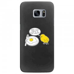holy cow larry is that you funny Samsung Galaxy S7 Edge Case | Artistshot