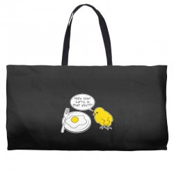 holy cow larry is that you funny Weekender Totes | Artistshot