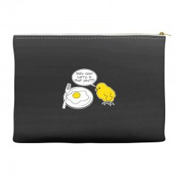 holy cow larry is that you funny Accessory Pouches | Artistshot