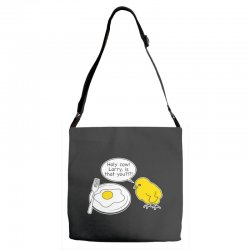 holy cow larry is that you funny Adjustable Strap Totes | Artistshot