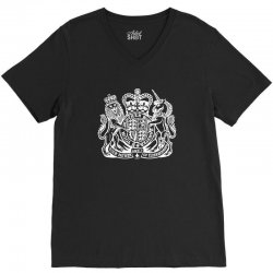holy grail uk passport V-Neck Tee | Artistshot
