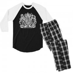 holy grail uk passport Men's 3/4 Sleeve Pajama Set | Artistshot