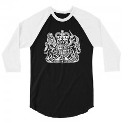 holy grail uk passport 3/4 Sleeve Shirt | Artistshot