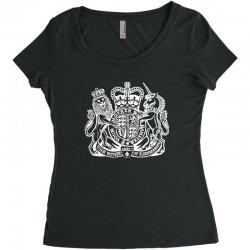 holy grail uk passport Women's Triblend Scoop T-shirt | Artistshot
