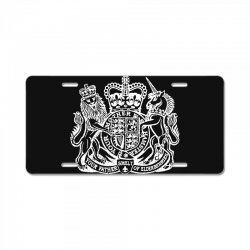 holy grail uk passport License Plate | Artistshot