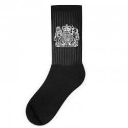 holy grail uk passport Socks | Artistshot