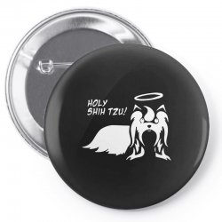 holy shih tzu Pin-back button | Artistshot