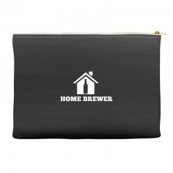 home brewer t shirt craft beer t shirt micro brew t shirt Accessory Pouches | Artistshot