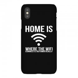 home is where the wifi connects teenager funny iPhoneX Case | Artistshot